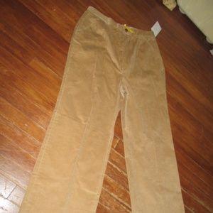 Cordon Carol Reed Corduroy Sports Pants 70s Preppy